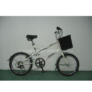 广州威腾自行车厂小轮径自行车 休闲车 XLJ001