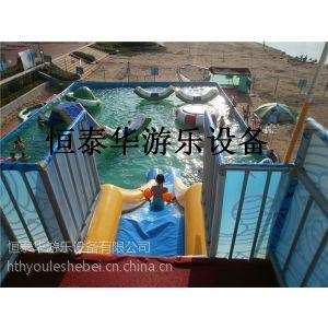 供应免费设计水上游乐项目哪有、大型充气水滑梯、厂家直销质量保证