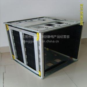 供应供应防静电SMT上下料架|防静电周转箱|防静电PCB存放周转架。