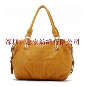 供应定做 优质时尚 高档 超細纖維聚氨酯PU仿真皮合成革手提袋挎包皮具8