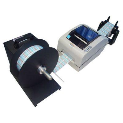 不干胶标签纸自动回卷器|条码纸自动回卷器|洗水唛自动回卷器