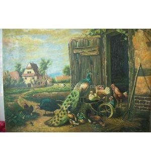 专业绘制各种高,中,低档油画风景人物抽象静物油画