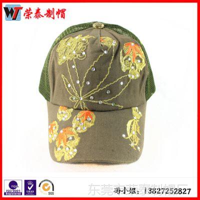 女士户外帽子防紫外线遮阳帽夏天网球帽防晒空顶帽