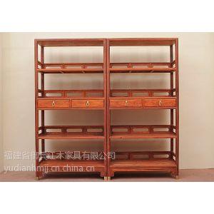 供应红酸枝书柜 中式书房家具 仿古家具 仿古书柜 明清家具