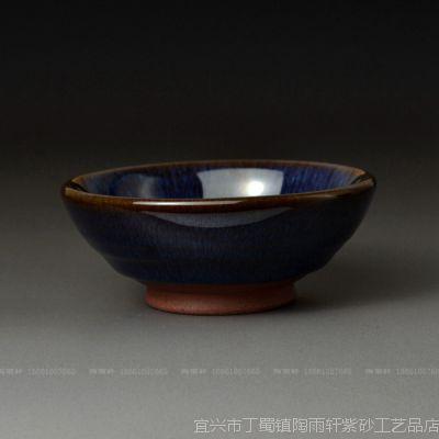 供应均丝*茶碗*品茗杯*普洱杯*宜兴紫砂均釉*宜均陶茶具JT010