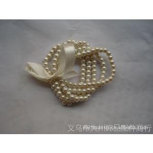 供应大川厂家销售玻璃仿珍珠手链,玻璃烤漆珠手饰,单排手链