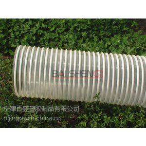 供应甘肃地面抛丸机专用耐磨吸尘管,排污塑筋管,螺旋塑筋管