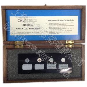 供应美国Calmetrics Au/Ni/xx型化学镍金镀层标准片