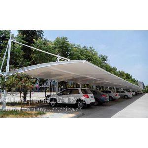 供应湖南膜结构--怀化小区停车棚--膜结构车棚