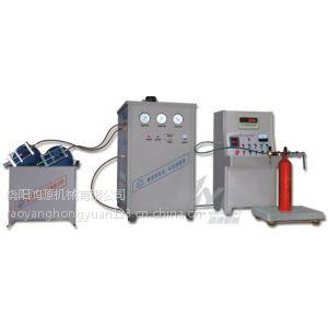 供应鸿源二氧化碳灌充机,GTM-B型灭火器灌充机多钱一台