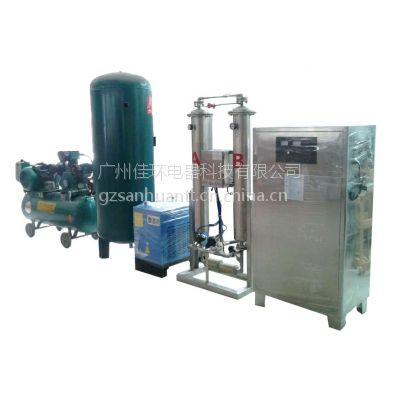 供应泳池水处理_循环水消毒_污水处理300克臭氧发生器