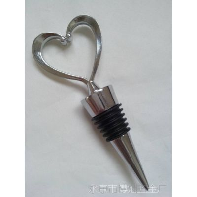 正心形六丝酒塞 锌合金酒瓶塞 S67K-105