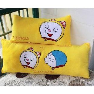 批发创意毛绒玩具 叮当猫 机器猫 多啦A梦 抱枕靠垫 枕头 可拆洗