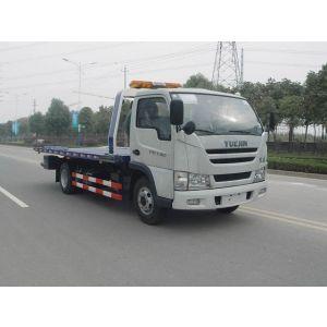 供应襄樊专用汽车救援拖车厂家专业生产东风多利卡清障车15897608971