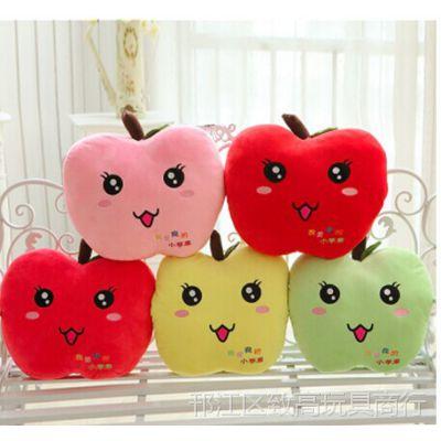毛绒玩具小苹果抱枕暖手捂老男孩之猛龙过江小苹果公仔捂手抱枕