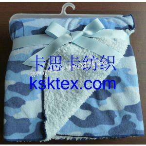 供应短毛绒毯子 短毛绒印花毛毯 宝宝毛毯 儿童毛毯 外贸毯子批发