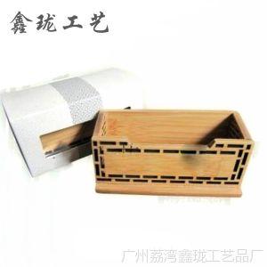 供应竹木办公用品 促销笔筒 广告笔筒 名片盒 竹雕名片夹 名片座批发