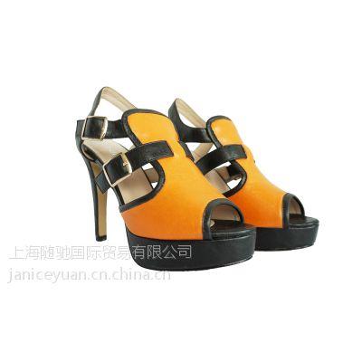 新款潮凉鞋 ***夏季女鞋防水台 女士凉鞋 库存清仓处理