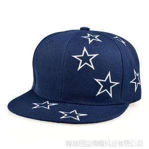 2015帽子男士女士 CAP刺绣五角星立体绣花嘻哈平沿帽子批发