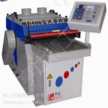 供应亨达厂家多片锯环保木工多片锯MJS400-X3