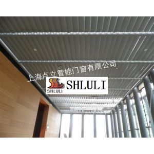 供应天棚遮阳板上海卢立智能门窗自动翻板智能翻板