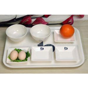 供应专业为大学,机关食堂,快餐厅 定制密胺餐具 耐温性能好