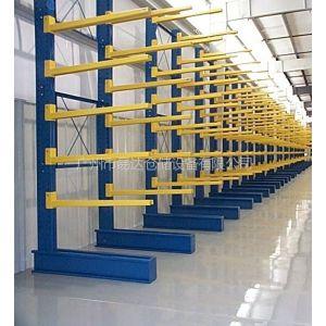 供应悬臂式货架|管材/水管/铝型材货架|易达厂专业定做