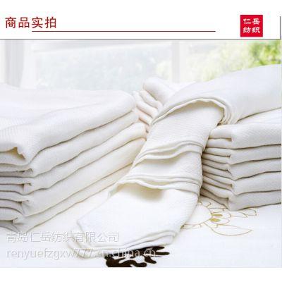 竹纤维尿布 菱形纱布 双层尿布 加厚 柔软吸水