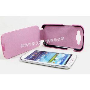 供应厂家供应三星galaxy s3手机皮套 三星i9300手机皮套 上下翻盖保护套