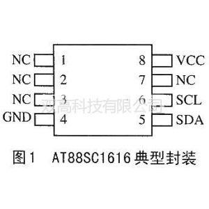 供应AT88SC1616芯片的原理与解密技术
