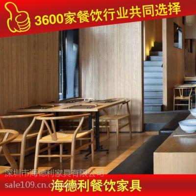 来样定制 优惠石英石桌子 桌子实木 厂家专业生产定做 深圳海德利家具 专业餐饮家具定制