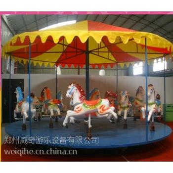 庙会上的旋转木马挣钱吗 简易转马赶庙会专用 简易转马价格