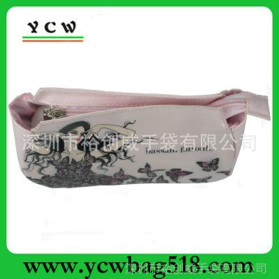 深圳化妆包厂家 OEM订做化妆包 光胶PVC化妆包 可加印LOGO