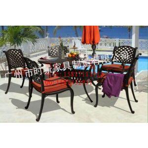 供应厂家直销铸铝套椅,户外铸铝桌椅供应商