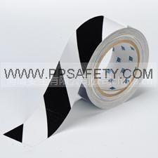 供应地面警示标识|胶带>警示胶带-条纹警示胶带-PVC-黑/白
