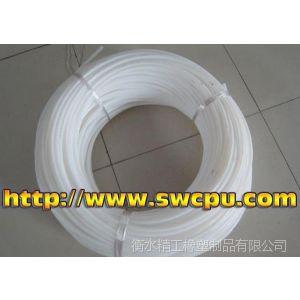 供应白色透明ptfe塑料管 透明聚四氟乙烯管