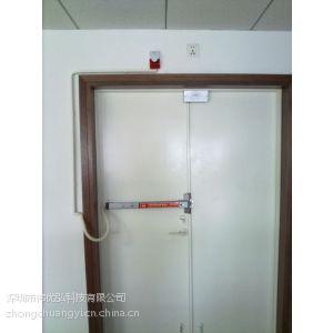 供应消防推杆锁 推杆锁 联动报警推杆锁 双门器