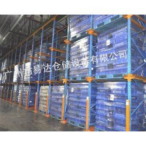 供应贯通货架 易达通廊式货架 广州仓储设备厂