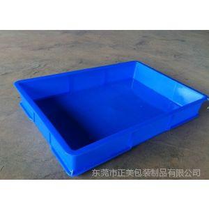 供应蓝色塑料方盘|防静电胶筐|PE塑料盒厂家直销