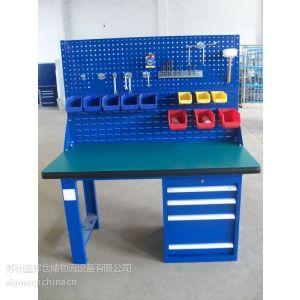 供应苏州工作桌/工作台工厂/侧柜挂板工作桌/吊柜挂板工作台/生产工作桌/无锡工作桌