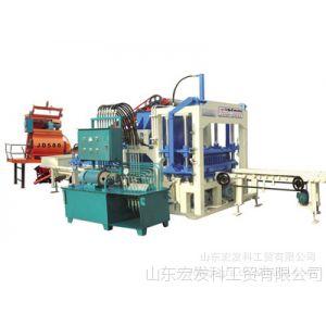 供应QT4-20C液压全自动 砌块成型机  免烧砖机 山东 宏发牌砖机