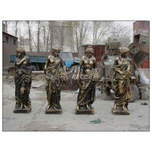 供应铜雕四季神