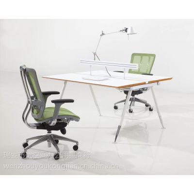 温州办公家具 办公桌 板式 钢脚 XT-623 XT-624