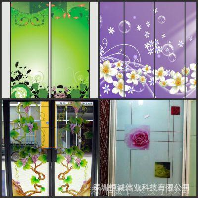 玻璃瓷砖电视背景墙万能UV平板打印机艺术瓷砖印花机厂家