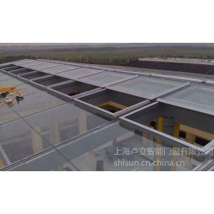 供应屋顶滑动电动天窗上海卢立玻璃平移天窗电机