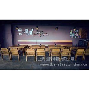 供应上海工厂按需定制咖啡厅桌椅 甜品店桌椅 餐饮店桌椅