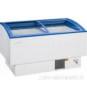 白雪TCD-1500H冷冻冷藏可转换弧面冷柜岛柜系列
