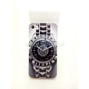供应热销新款phone4/4Siphone5浮雕彩绘襄钻保护壳iphone5浮雕水钻保护壳