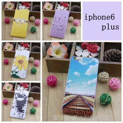 iphone6 plus彩绘手机壳 苹果6 5.5寸手机壳批发定制厂家生产批发