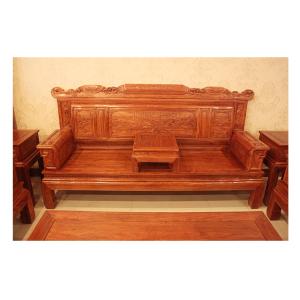 供应中山博豪红木刺猬紫檀批发 刺猬紫檀兰亭序沙发